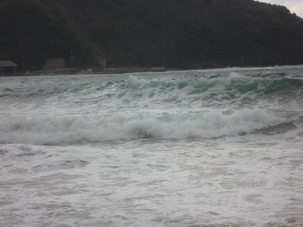 サーフィン日本海