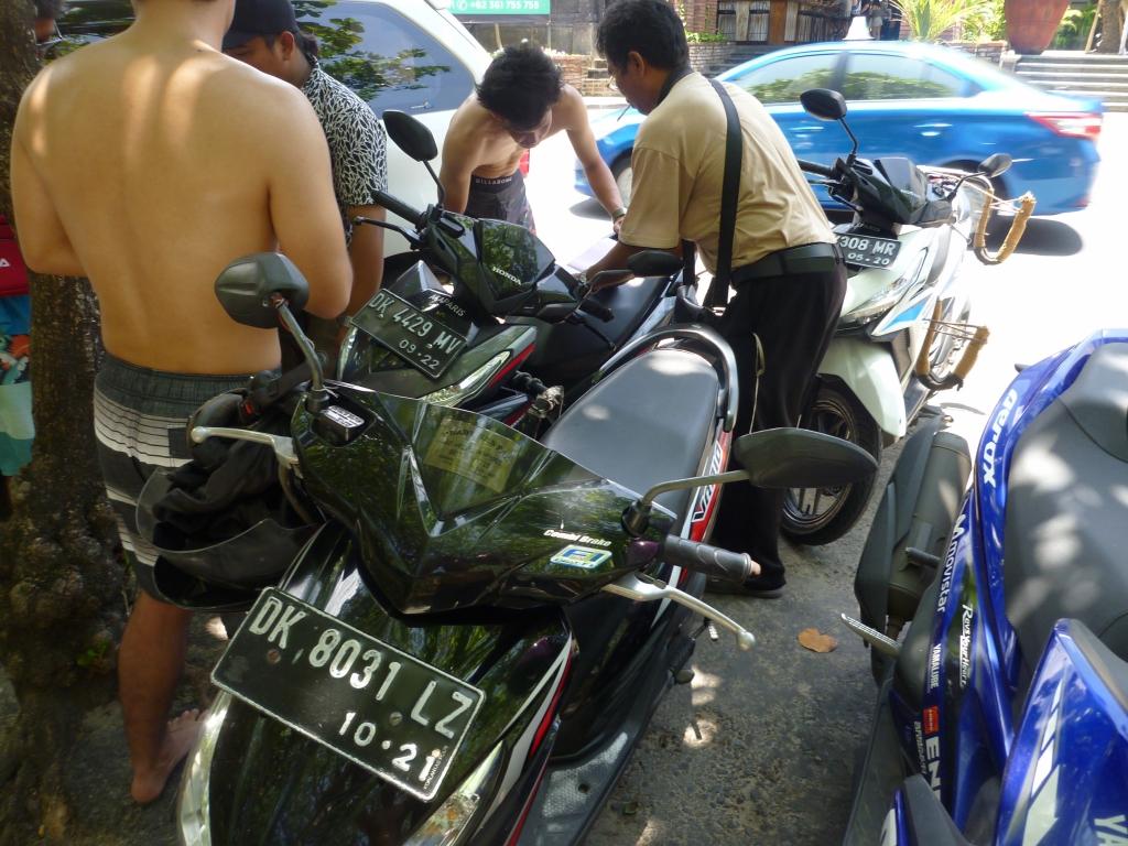 レンタルバイク借りたが