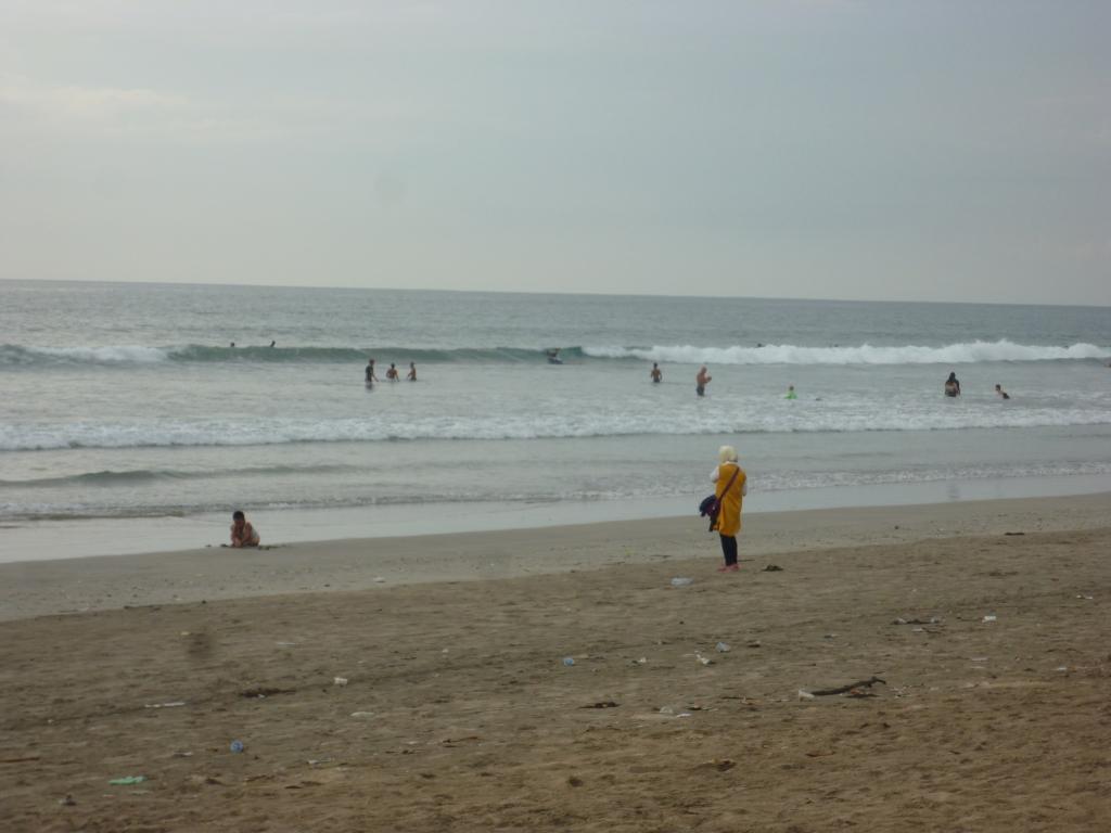 最終日のビーチ