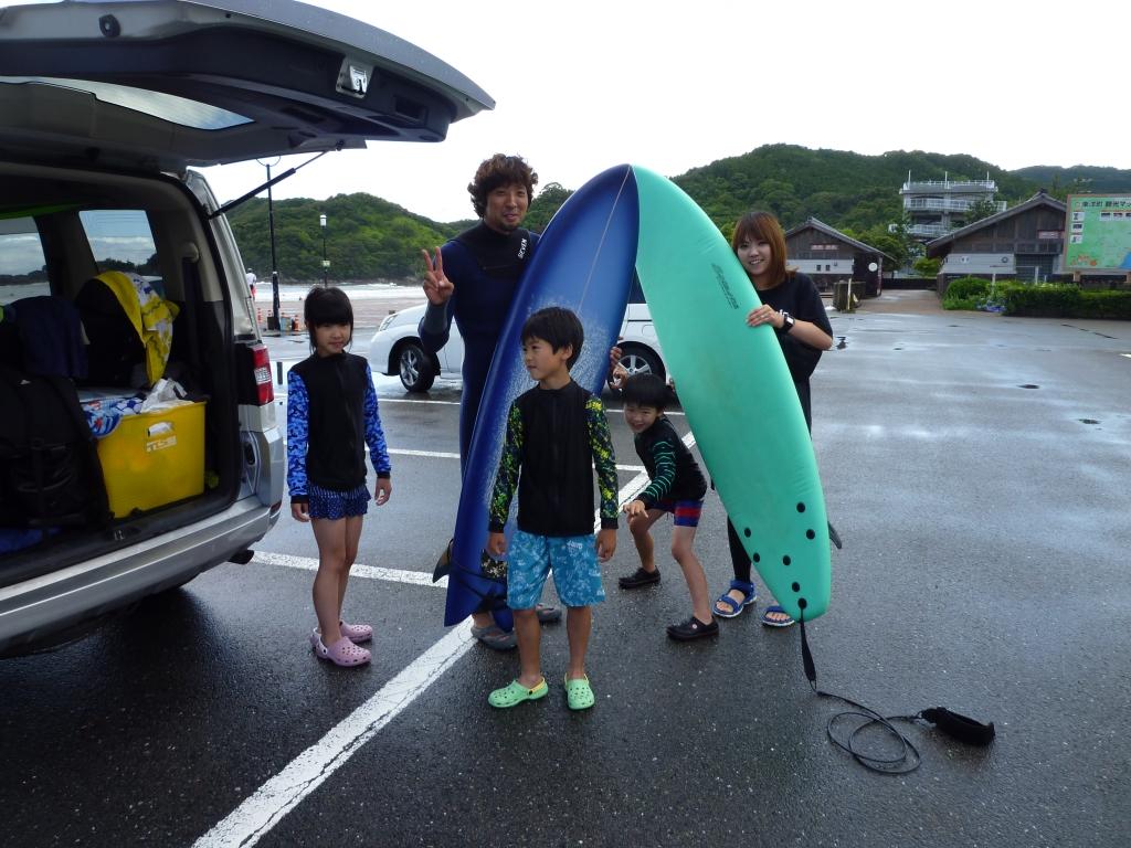 西村ファミリー/サーフィン