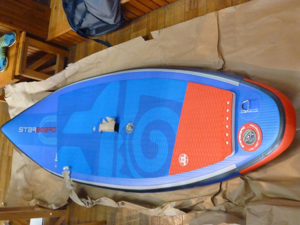 STARboard SURFインフレータブルSUP