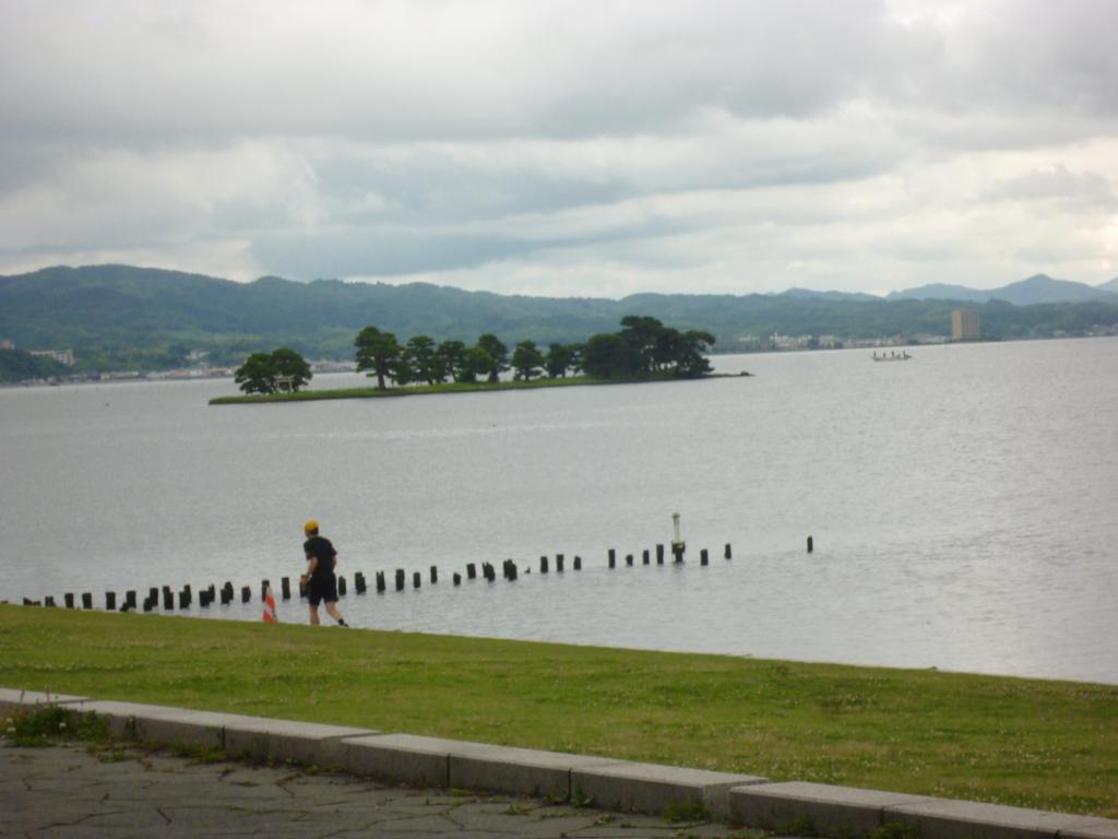 宍道湖 嫁が島