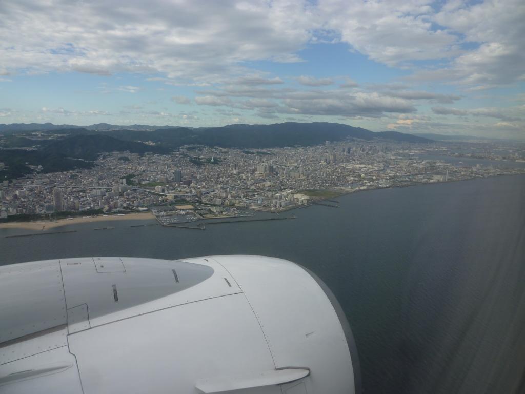 8/5夕方 神戸空港