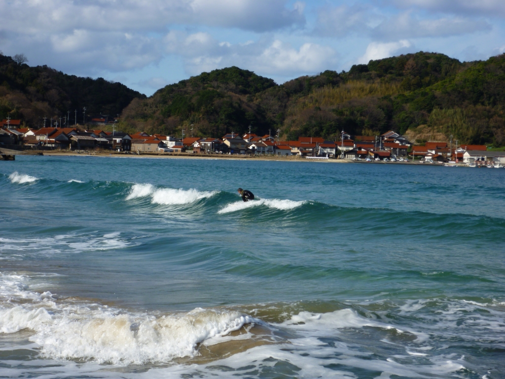 リラックス、サーフィン