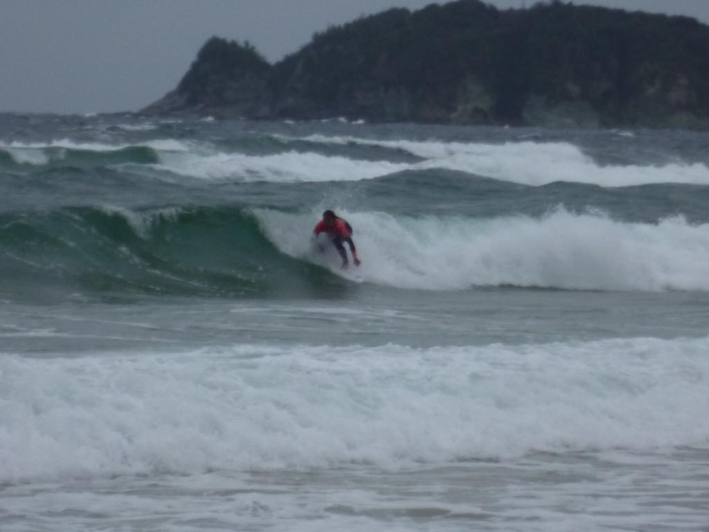 2月13日サーフィン