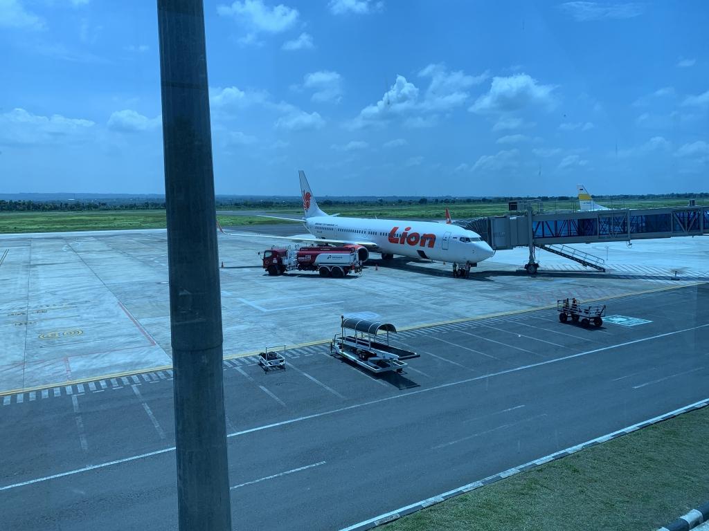 国内線、バリ空港
