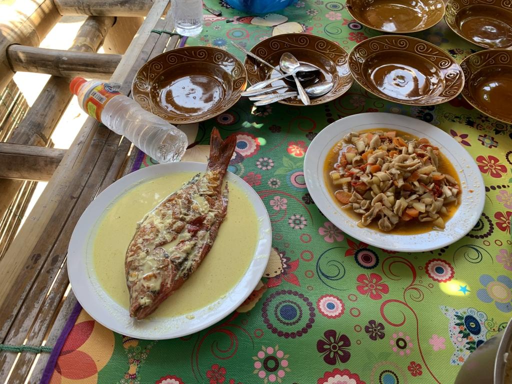 GABU家で昼飯
