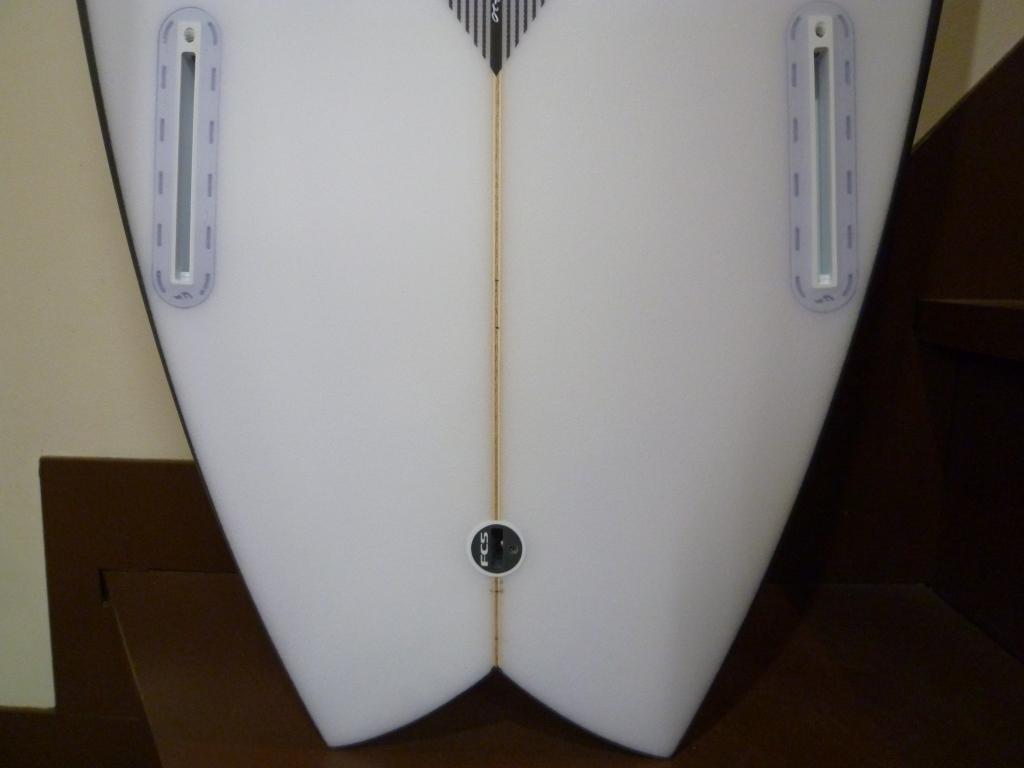 TWIN FINボード