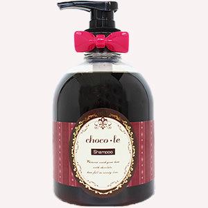 チョコレートの香りのシャンプー