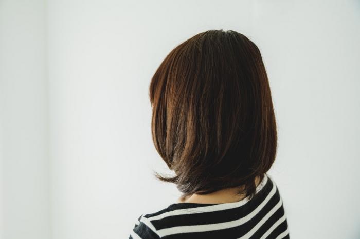 しっとりとまとまる髪
