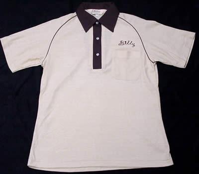 ヒルトンのボーリングシャツ