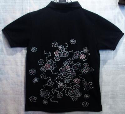 ポロシャツ黒2