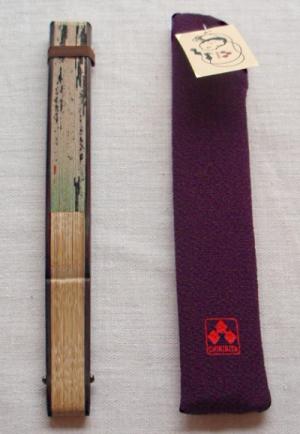 扇子専用袋鉄線うさぎ