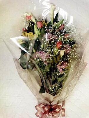 宮川さんからいただいた花束
