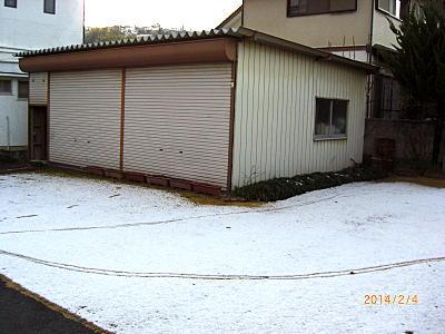 2014雪景色