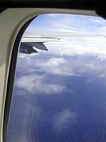太平洋上空