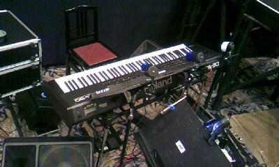 楽器セッティング