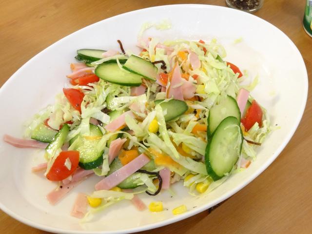 りっちゃんのサラダ