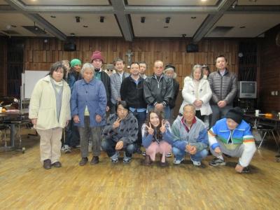 藤沢野宿の仲間のクリスマス会2015
