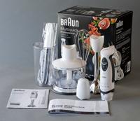 中古,美品,Braun,ブラウン,MR,5555,M,CA,マルチクイック,プロフェッショナル,ハンドブレンダー,調理器具