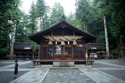 長野県,諏訪大社,下社