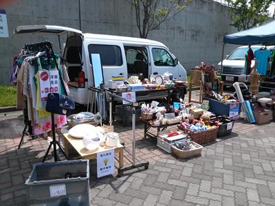 2012.07.29横浜市金沢区「海の公園」フリーマーケット