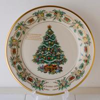 未使用,箱入,LENOX,レノックス,1998,クリスマス,プレート,金彩,飾り皿