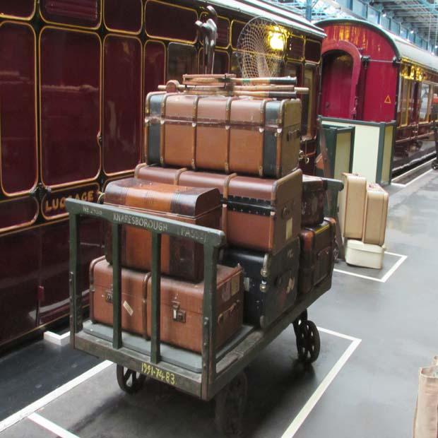 英国ヨークの鉄道博物館