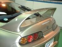『トヨタ・スープラRZ-S 大型リアスポイラー写真』