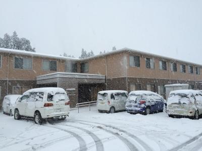 大雪でデイサービスは縮小します