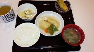今日のお昼ご飯です(*^^*)