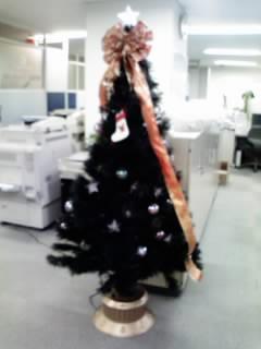クリスマスツリーです!