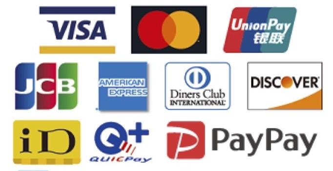 VISA/MasterCard/AMERICAN EXPRESS