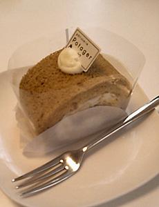 ポタジェ ともろこしのロールケーキ