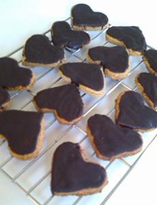 マクロビチョコクッキー