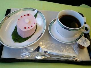 桜デザート