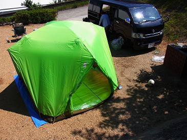 キャンプ 夏の思い出