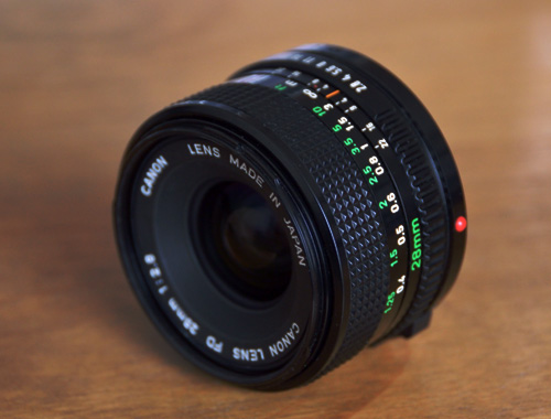 Canon New FD 28mm/f2.8