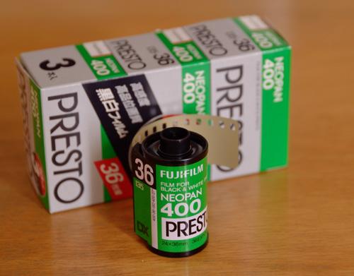 Fujifilm ネオパン・プレスト