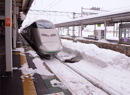 米沢旅行/米沢駅到着