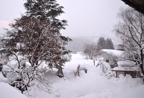 米沢旅行/部屋からの風景