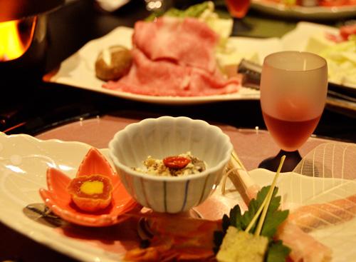 米沢旅行/夕食
