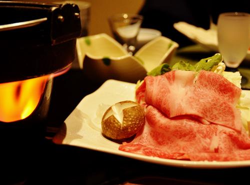 米沢旅行/米沢牛すき焼き