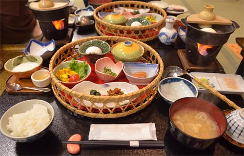 米沢旅行/朝食