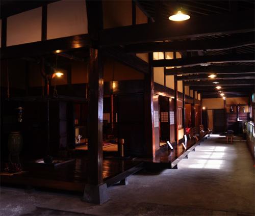 米沢旅行/資料館/座敷1
