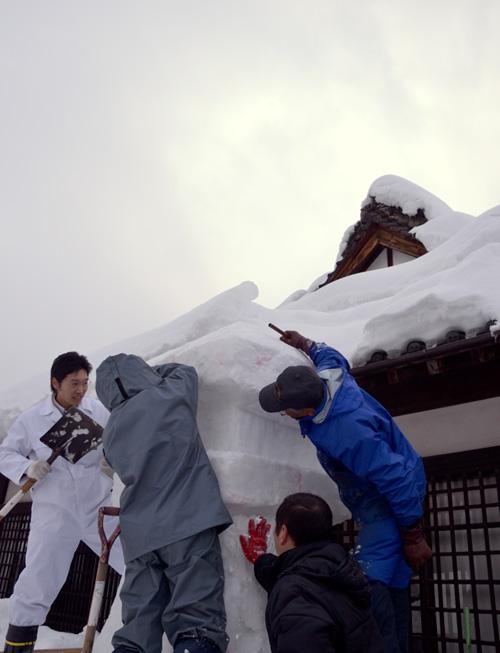 米沢旅行/資料館/雪灯篭