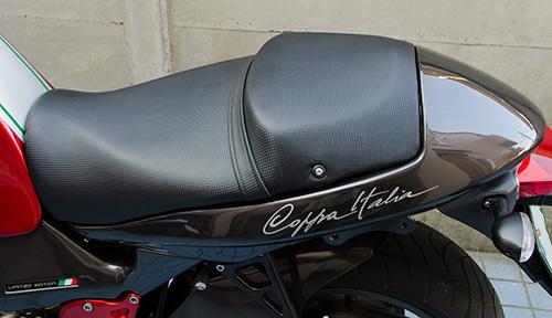 Moto Guzzi V11 Coppa Italiaのタンデムシート