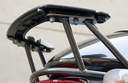 MotoGuzzi V11 Coppa Italia 用ワンオフ・クラウザートップケース用ステー12