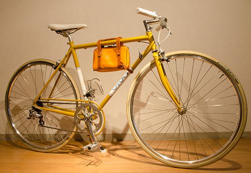 自転車フレーム用ポーチ(自転車全景)