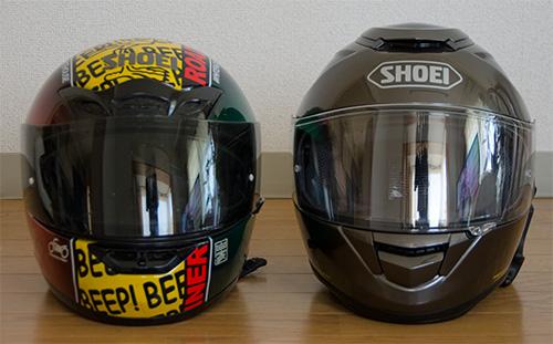SHOEI GT-AirとX-9(4)